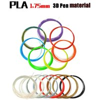 Wholesale 2016 D filament MM m avirulent and harmless DIY PLA printing material high strength For D Drawing Printer Pen E232J