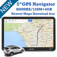 truck gps - US Stock BRAND New XGODY Inch GB DDR1 MTK FM Car Truck SAT NAV Navigator GPS truck quot Sat Nav GPS Camion Newest Map UK USA STOCK
