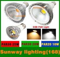 Wholesale Dimmable Led bulb spotlight par38 par30 par20 V W W W E27 par LED Lighting Spot Lamp light downlight