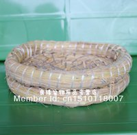 Wholesale High quality pigeon product parrot supplies basin Large straw for birds nest basin