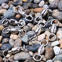 Carbon Steel carbon steel ring - Hot Sale Ball Bearing Fishing Rolling Swivel Solid Rings Line Connectors Lbs Stainless Steel