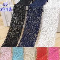 Wholesale 10Yard Exquisite elastic lace trim decoration diy handmade accessories cm clothes fabric