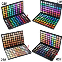 Cheap 2015 newest Cosmetic Salon Party Professional 120 color eyeshadow   eye shadow palette Make up Set Tools DHL FREE