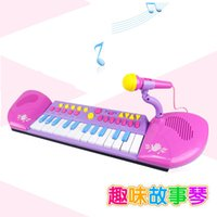 Wholesale Bevenlo children s puzzle story interesting electronic piano keyboard simulation Children Musical Toys