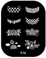 Wholesale nail stamping plates konad stamping nail art stamp Nails styling nail tools makeup make up art plates plate M676 F