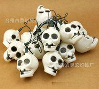 discount items - Discount Pumpkin series Halloween items decorative items Halloween bone marrow decorative light string of Christmas lights string