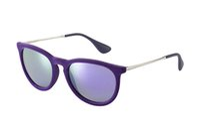 Wholesale Sunglasses Women Brand Designer Sun Glasses Erika Velvet Frame Gafas De Sol Women Cat Eye Vintage Oculos De Sol Feminino