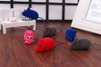 Wholesale colorful cheap Pet supplies Pet mouse cat toys realistic cat mice rat
