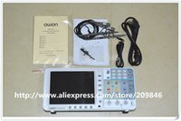 Wholesale DHL OWON SDS8102 Mhz G s channel Thin Digital Storage Oscilloscope oscillograph CH build in Russian Spanish