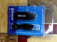Wholesale SB Wireless Bluetooth mm Stereo Audio Music Receiver Adapter for iphone ipad ipod Speaker Mp3 PC