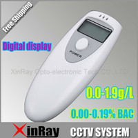 alcohol units - Portable Breath Alcohol Analyzer Digital Breathalyzer Tester LCD Display in Two Units BAC amp g L PFT