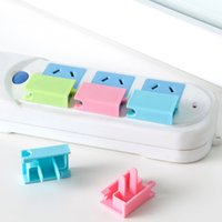 Wholesale 3 Colors Power Socket Outlet Plug Protective Cover Baby Child Safety Protector b