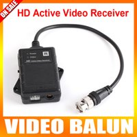 active video networks - HD Passive Video Receiver UTP Network Active Power Balun CAT e CAT To Camera CCTV BNC Support P AHD Camera Max m