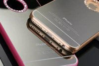 Wholesale 2015 new iphone s s s Luxury Diamond mirror surface Case Cover for iPhone Plus