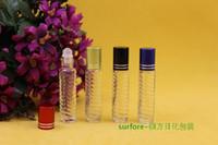 Wholesale 3 ml glass bottle glass beads ball on bead dispensing bottle bottle small perfume bottles