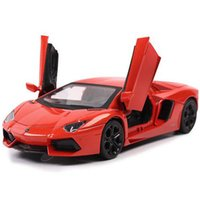 Wholesale 1 Scale Emulational Electric Alloy Diecast Models Car Toys Brinquedos Miniature Pull Back Cars Doors Openable Toy Cars
