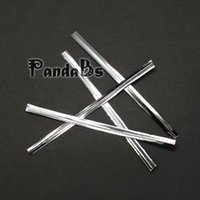 Wholesale Silver Metallic Plastic Twist Ties for Candy Bags with Iron x4mm bag