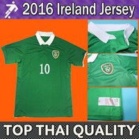 ireland - Whosales Republic of Ireland soccer jersey EURO CUP The Republic of Ireland home blue shirts top thai ireland shirts