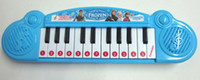 Wholesale Hot sale set New Musical toy for kids Frozen girl Cartoon electronic organ toy keyboard