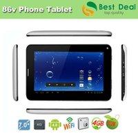 expédition tablette 7 gros-gratuit pouces GSM 2G fente de la carte SIM de téléphone Tablet PC Allwinner A23 Dual Core Android 4.2 Bluetooth double caméra