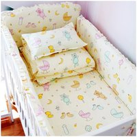 Wholesale Newest Style China Baby Bed Set Cotton Baby Bedding Set Baby Crib Bedding Set Include Bumpers Sheet Pillow Case