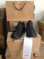 Wholesale With YEEZY BAG RECEIPT Perfect Yeezy Boost TAN Kanye Milan West Yeezy Boost Size US5 With Box