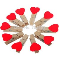 Wholesale FD546 Sweet Lolita Wooden Mini Clip Wood Pegs Kids Crafts Party Favor Supply