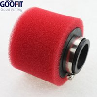 Wholesale GOOFIT mm Foam Air Filter for stroke cc cc cc cc cc ATV and Dirt Bike Red P091 order lt no track