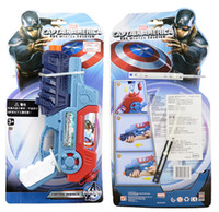 american wooden toys - 12 inch Water Gun Ironman Captain American Childen outdoor Play Toys Hasbro marvel Toys