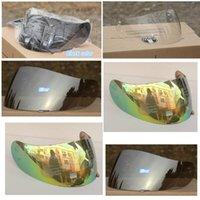 Wholesale k3 k4 full face motorcycle helmet visor motocross helmet lens shield colors transparent colorful silver black