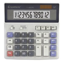 Wholesale Comix C Calculator Digits Size mm Weight g Color Grey One Package of One Pc