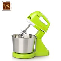 Wholesale Priced at Desktop whisk automatic mini electric household hand mixer beat eggs bucket control ribbon