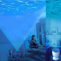 ceiling speakers - Night Sleep Light Speakers Romantic Dream Ocean Waves Style Projection Round Wall Ceiling Projector Speaker For PC Laptop Cell Phones DHL