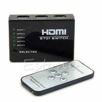 Wholesale Hot sale Port Video HDMI Switch Switcher Splitter For HDTV DVD With IR Remote P