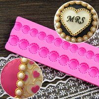 Wholesale Pearl Shape Bag Chain Design DIY Silicone D Cake Mold Chocolate Fondant Decoration Mold Cake Cooking Tools CT401