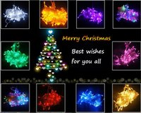 Wholesale 10m LED LED String Light OFF Time Limited Discount for Christmas V V LED Decoration Light