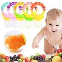 Wholesale New Arrivals Safe Baby Kids Infant Feeding Tools Nipple Pacifiers Supplier Food Milk Fruits Silicone Plastic KC2