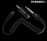 Wholesale Yongnuo Ls pc635 television lights pc Sync cable for rf603 yn622 flash trigger device