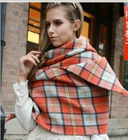 fashion cotton scarf - new Lady Blanket Oversized Scarf Wrap Shawl Plaid Cozy Checked Pashmina