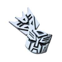 Wholesale Autobot Transformers D Metal Car Emblem Badge Autobots Truck Decal Body Sticker