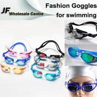 Wholesale New Summer Fashion Swimming Goggles Unisex Woman Men Water Sportswear Anti fog UV Shield Protect Adult Eyewear Swimming Glasses