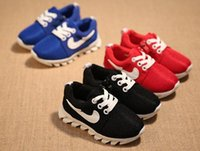 Wholesale Many color options new children s shoes for boys and girls running shoes breathable shoes size