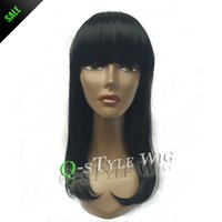 Cheap synthetic wigs for black women Best synthetic black wig