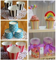 Wholesale 18 colors Baking Cups and Liners cupcake baking cups Cupcake paper cupcake muffin Party Decoration Supplies Christmas Gifts RG848