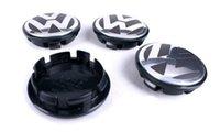 Wholesale 65mm for VW Volkswagen Wheel Center Caps For Volkswagen Logo badge emblems EOS Golf Jetta Mk5 Passat B6 VW B7601171 wheel cover
