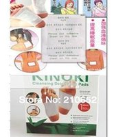detox foot - 40pcs Kinoki Detox Foot Pads Patches with Adhesive have Retail Box Patches Adhesives