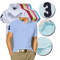 purple polo shirts - 2016 New Fashion Short Sleeve Men Polos classic Casual Breathable Fitness High quality men shirt Outdoor Sport shirt