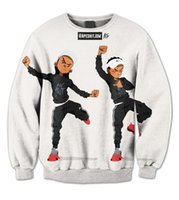 Wholesale Real USA size Riley Hit them Folks Dance D Sublimation fleece Sweatshirt Crewneck