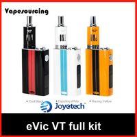 Precio de Evic joytech-100% auténtico Joyetech Evic VT Kit completo control de la temperatura Capacidad 5000mah Cig E Mod 510 de rosca con 3 colores JoyTech original
