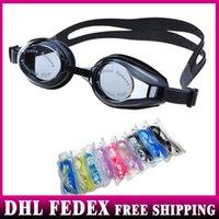 Wholesale 100pcs Adult Swimming Glasses summer new swim goggles anti fog waterproof silicone